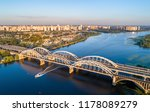 aerial view of the darnytsia...   Shutterstock . vector #1178089279