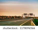 evening landscape with the... | Shutterstock . vector #1178096566