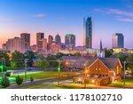 oklahoma city  oklahoma  usa... | Shutterstock . vector #1178102710