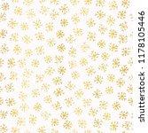 luxe golden foil snowflake... | Shutterstock .eps vector #1178105446