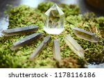 healing crystal grid kit ...   Shutterstock . vector #1178116186