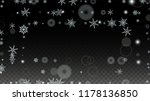 new year vector background with ... | Shutterstock .eps vector #1178136850