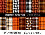 orange  black and white... | Shutterstock .eps vector #1178147860
