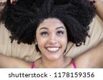 portrait of smiling young black ... | Shutterstock . vector #1178159356