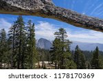 indian rock natural arch  ... | Shutterstock . vector #1178170369