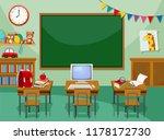 A Empty Computer Classroom...