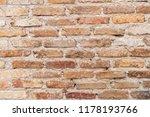 old grunge brown stone brick... | Shutterstock . vector #1178193766