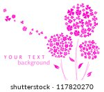 blossom flower background | Shutterstock .eps vector #117820270