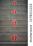 foot step on staircases | Shutterstock . vector #1178211223
