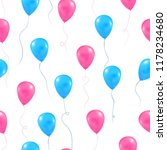 gender reveal party background. ... | Shutterstock .eps vector #1178234680
