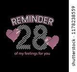 t shirt print  poster  banner ... | Shutterstock .eps vector #1178238559