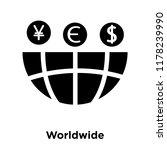 worldwide icon vector isolated... | Shutterstock .eps vector #1178239990