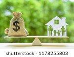 family financial management ... | Shutterstock . vector #1178255803