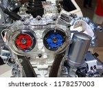 model of new car dual overhead... | Shutterstock . vector #1178257003