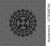 crossed bandage plaster icon... | Shutterstock .eps vector #1178268766
