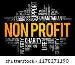 non profit word cloud collage ...   Shutterstock .eps vector #1178271190
