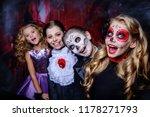 Halloween. happy children in...
