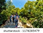 tourists walking in kinkakuji... | Shutterstock . vector #1178285479