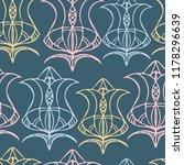 vector seamless pattern luxury... | Shutterstock .eps vector #1178296639