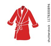 bathrobes icon   vector clothes ... | Shutterstock .eps vector #1178300896