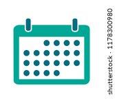 vector calendar event reminder  ... | Shutterstock .eps vector #1178300980