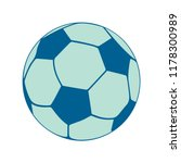 football icon  vector soccer... | Shutterstock .eps vector #1178300989