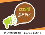 conceptual hand writing showing ... | Shutterstock . vector #1178311546