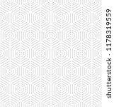 geometric light repeating... | Shutterstock .eps vector #1178319559