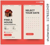 find a house app ux design for...