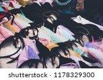 headband anime shop. | Shutterstock . vector #1178329300