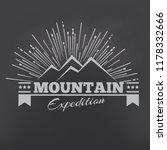 mountains or peak logo emblem....   Shutterstock .eps vector #1178332666