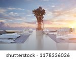 portrait of a table of a... | Shutterstock . vector #1178336026