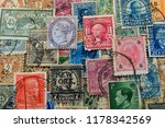 philately is the field of... | Shutterstock . vector #1178342569