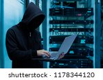 hackers steal database from... | Shutterstock . vector #1178344120