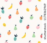 seamless cute pattern with... | Shutterstock .eps vector #1178362969