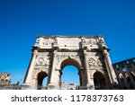 arch of constantine  the... | Shutterstock . vector #1178373763