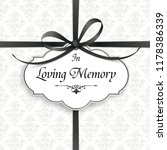obituary with the text in... | Shutterstock .eps vector #1178386339