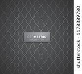 geometric seamless pattern | Shutterstock .eps vector #1178389780