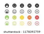 5 parameter levels of customer... | Shutterstock .eps vector #1178392759