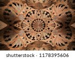 enchanting oriental wall and... | Shutterstock . vector #1178395606