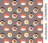 sushi and rolls | Shutterstock . vector #1178398393