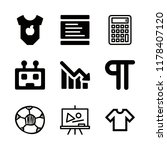 figure icons set with... | Shutterstock .eps vector #1178407120