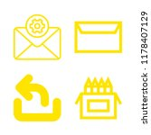 subject icons set with pencils  ... | Shutterstock .eps vector #1178407129