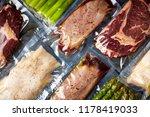 duck breast  chicken breast ... | Shutterstock . vector #1178419033