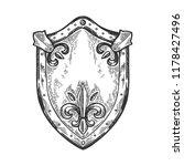 Ancient Knight Shield Engravin...