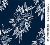 seamless pattern with garden... | Shutterstock .eps vector #1178436370