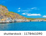 menorca island south... | Shutterstock . vector #1178461090