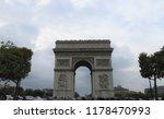 paris   france   november 2013  ... | Shutterstock . vector #1178470993
