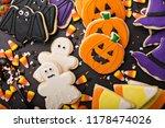 Halloween Cookies In The Shape...