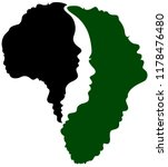 people of africa profile images ... | Shutterstock .eps vector #1178476480